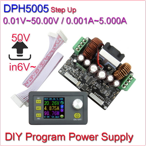 [Z-1] [DIY] 디지털 파워서플라이 DPH5005 Step Up Program Power Supply 0V~50.00V / 0A~5.000A